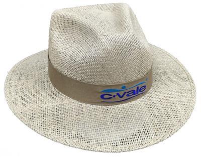 e0fd676d6298c Chapéu de Juta sem Forro na Aba EC492bordado